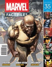 Marvel Fact Files #35 Eaglemoss Publications